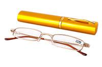 Очки с диоптриями в футляре 2134