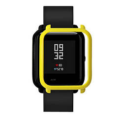 Накладка бампер Tamister для часов Xiaomi Amazfit Bip Yellow (1010520)