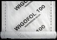 Ветрозащитная мембрана Стротекс (Strotex) Wigofol плотность 100 гр\м2 размер 1,5х50м.п. рулон 75 м2, фото 1