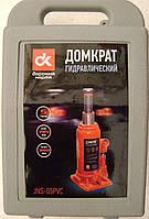 Домкрат бутылочный, 5т пластик, H=195/380 <ДК>