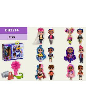 Кукла H DH2214 с мальчиком, с аксессуарами, 6 видов, р-р куклы-14см, в кор. 26*8,5*20,5см