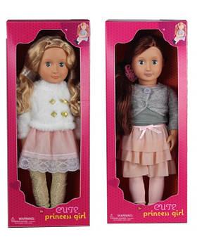 Кукла MZT9240B 2 вида, кукла - 18,5'', в коробке 50,5*12,5*19,5 см