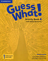 Guess What! Level 4 Activity Book with Online Resources