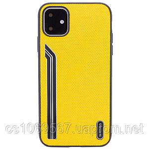 "TPU чехол SHENGO Textile series для Apple iPhone 11 (6.1"")"