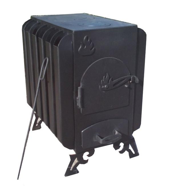 Печь длительного горения с радиаторами