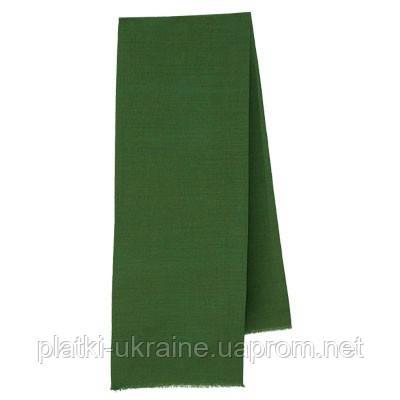 Кашне мужское Без рисунка (зеленое)