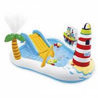 Надувной игровой водный центр для детей Intex 57162 'Рыбалка'