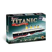 Трехмерная головоломка-конструктор CubicFun Титаник (T4012h)