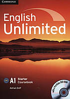 English Unlimited. Starter Coursebook (With e-Portfolio DVD-Rom)