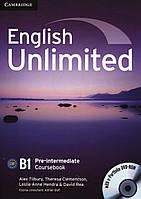 English Unlimited Pre-intermediate Coursebook (With e-Portfolio DVD-Rom)