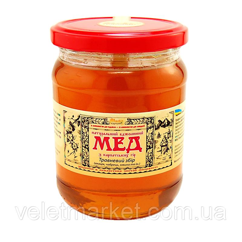 "Мёд Майский сбор ТМ ""Мёд Карпат"" 600 г"