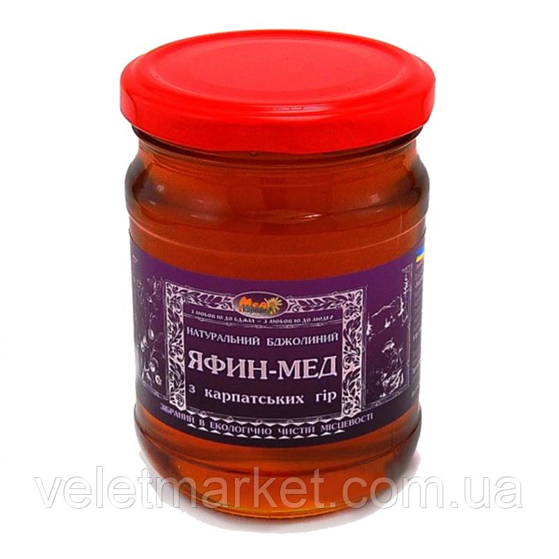 "Черники мёд - ТМ ""Мёд Карпат"" 350 г"