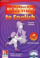 Playway to English 4. Activity Book (+ CD-ROM)