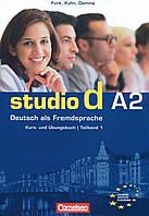 Studio d A2. Deutsch als Fremdsprache. Teilband 1. Kurs- und Ubungsbuch (+ CD)