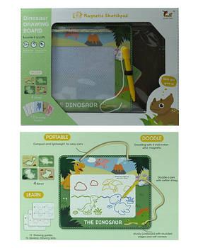Доска рисов 923B/924B/926B магнитная, трафареты, карточки с обучающ. картинками 3 вида