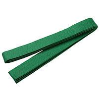 Пояс кимоно 280 см, цвета в ассортименте Зеленый