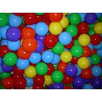 Мячики шарики 100 штук для сухого бассейна, диаметр 8.2. Украина