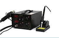 Обзор термовоздушной паяльной станции YIHUA 852D+ (2 в 1) с паяльником