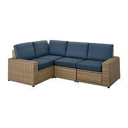 SOLLERÖN, Модульный диван-кровать угловой 3-передняя внешнее - ТОП ПРОДАЖ