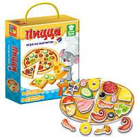 Игра магнитная Пицца на русском, Vladi Toys - 218931