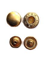 Кнопка Альфа 12,5мм Золото Турция
