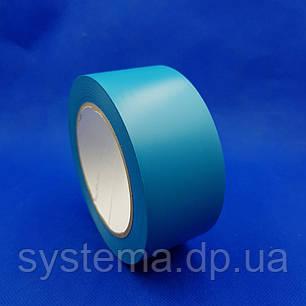 Лента  для разметки полов и сигнальной маркировки, 50х0,13 мм, голубой, рулон 33 м, фото 2
