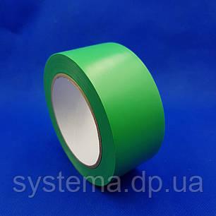 Лента  для разметки полов и сигнальной маркировки, 50х0,13 мм, зеленый, рулон 33 м, фото 2