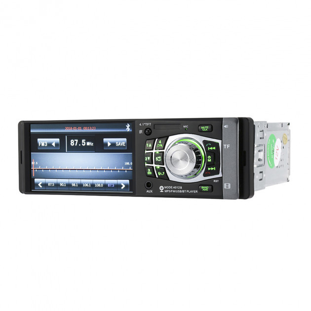 Автомагнитола Pioneer 4012 CRB экран 4.1 дюйма видеомагнитола ISO мультимедийная