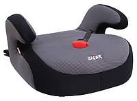 Детское автокресло Siger Бустер FIX, цвет: серый, группа 3 (возраст 6-12 лет, вес 22-36 кг), (Isofix) - KRES0187