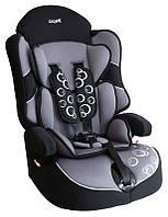 Детское автокресло Siger Драйв, цвет: серый, группа 1/2/3 (возраст 1-12 лет, вес 9-36 кг), (ремень безопасности) - KRES0234