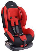 Детское автокресло Siger Кокон, цвет: красный, группа 1/2 (возраст 1-7 лет, вес 9-25 кг), (ремень безопасности) - KRES0111