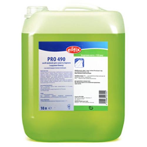 Средство для мытья полов и придания блеска Eilfix PRO 490, 10 литров