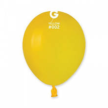 "Латексна кулька пастель жовтий 5 ""/ 02 / 13см Yellow"