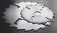 Пила дискова, пильный диск D350 d50-100 z20+4 (4,2/2,8), з підрізними ножами та твердосплавними напайками