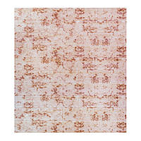 Декоративная 3Д-панель 5 шт. кирпич Красный Мрамор (самоклеющиеся 3d панели для стен оригинал) 700x770x5 мм