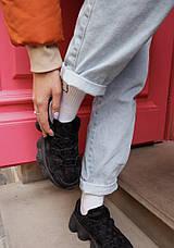 Кроссовки женские Fila черные (Top replic), фото 2