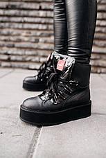 Кроссовки женские Puma х Fenty by Rihanna sneaker boot черные (Top replic), фото 2