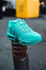"Кроссовки женские Nike Air Max 95 ""Tiffany"" бирюзовые (Top replic), фото 2"