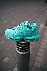 "Кроссовки женские Nike Air Max 95 ""Tiffany"" бирюзовые (Top replic), фото 3"