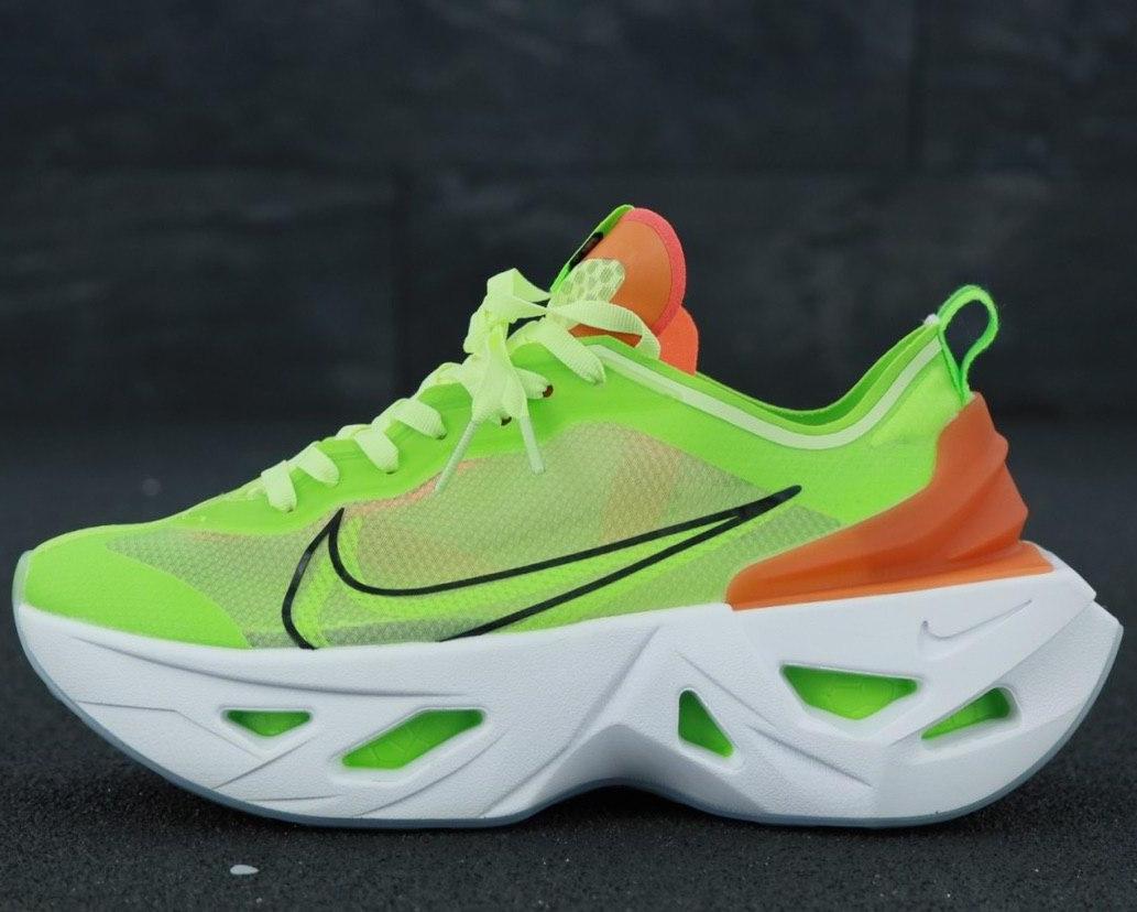 Кроссовки женские Nike Zoom X Vista Grind салатовые (зеленые) (Top replic)