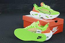 Кроссовки женские Nike Zoom X Vista Grind салатовые (зеленые) (Top replic), фото 3