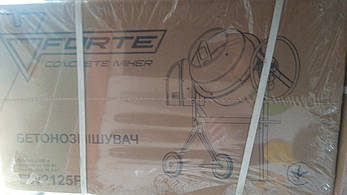 Бетономешалка Forte СБ2125П 125л, фото 2