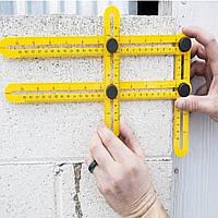 Измерительные линейки | Линейка мультифункциональная строительная Multifunctional Folding Ruler Angler