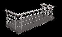 Ограждение для балкона  из нержавеющей стали