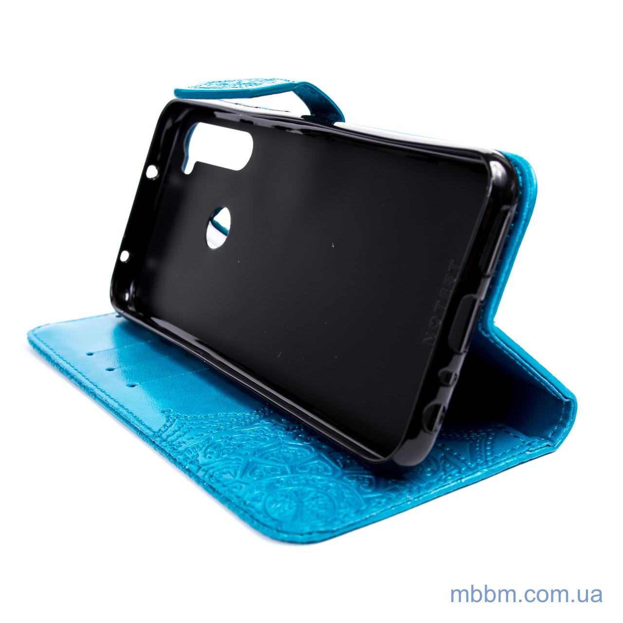 Чехлы для Xiaomi Redmi Note 8T Art Case с визитницей 8t Blue