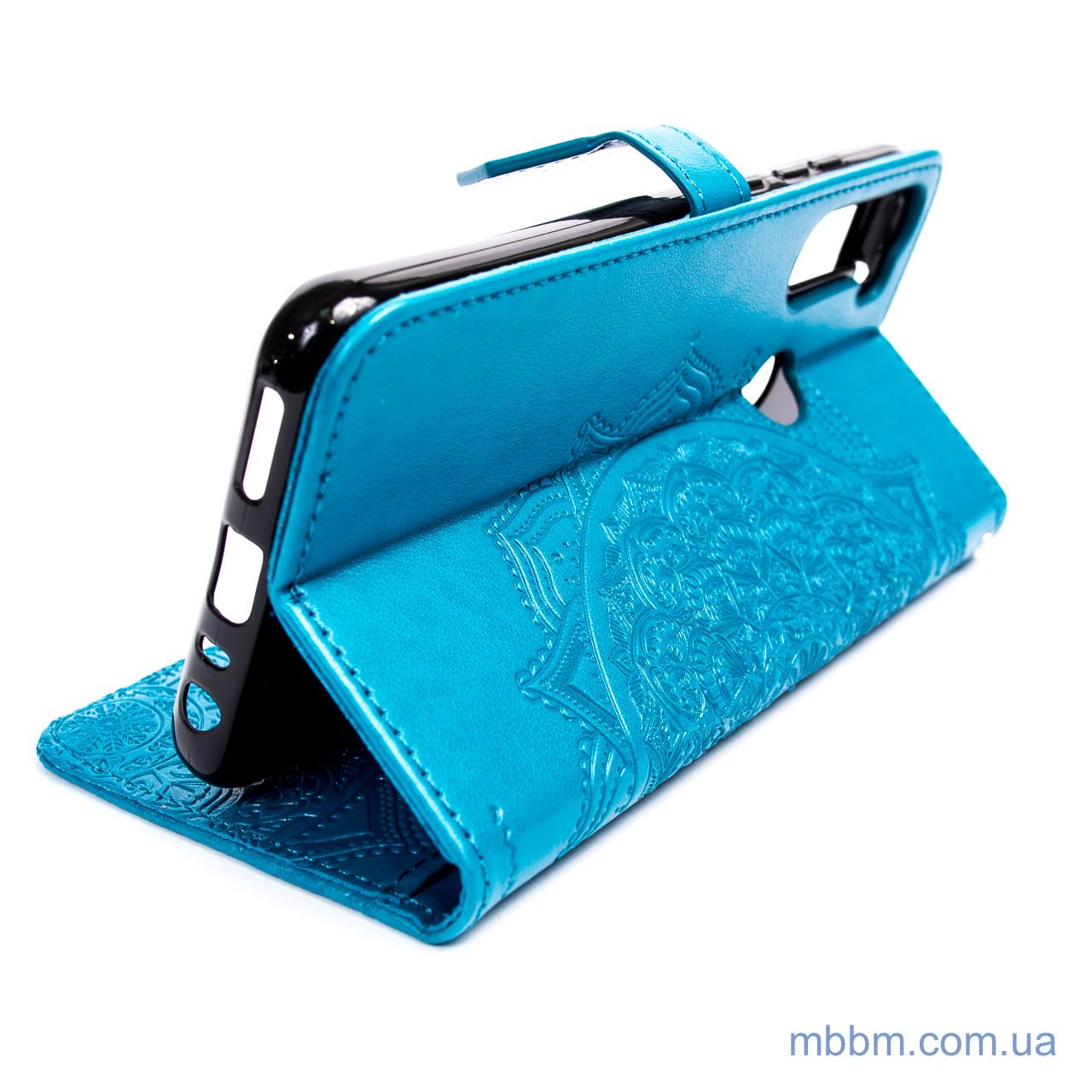 Чехол Art Case с визитницей Xiaomi Redmi Note 8t Blue 8T
