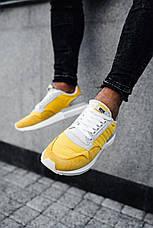Кроссовки мужские Adіdas ZX 500 RM желтые (Top replic), фото 3