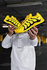 Кроссовки мужские Nike Air VaporMax Plus желтые (Top replic), фото 2