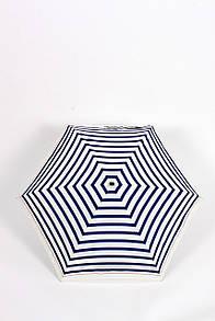 Стильный женский зонт в полоску