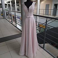 Платье На Выпускной,Платье На Свадьбу ЦВЕТА ПУДРЫ Коллекция 2020 года